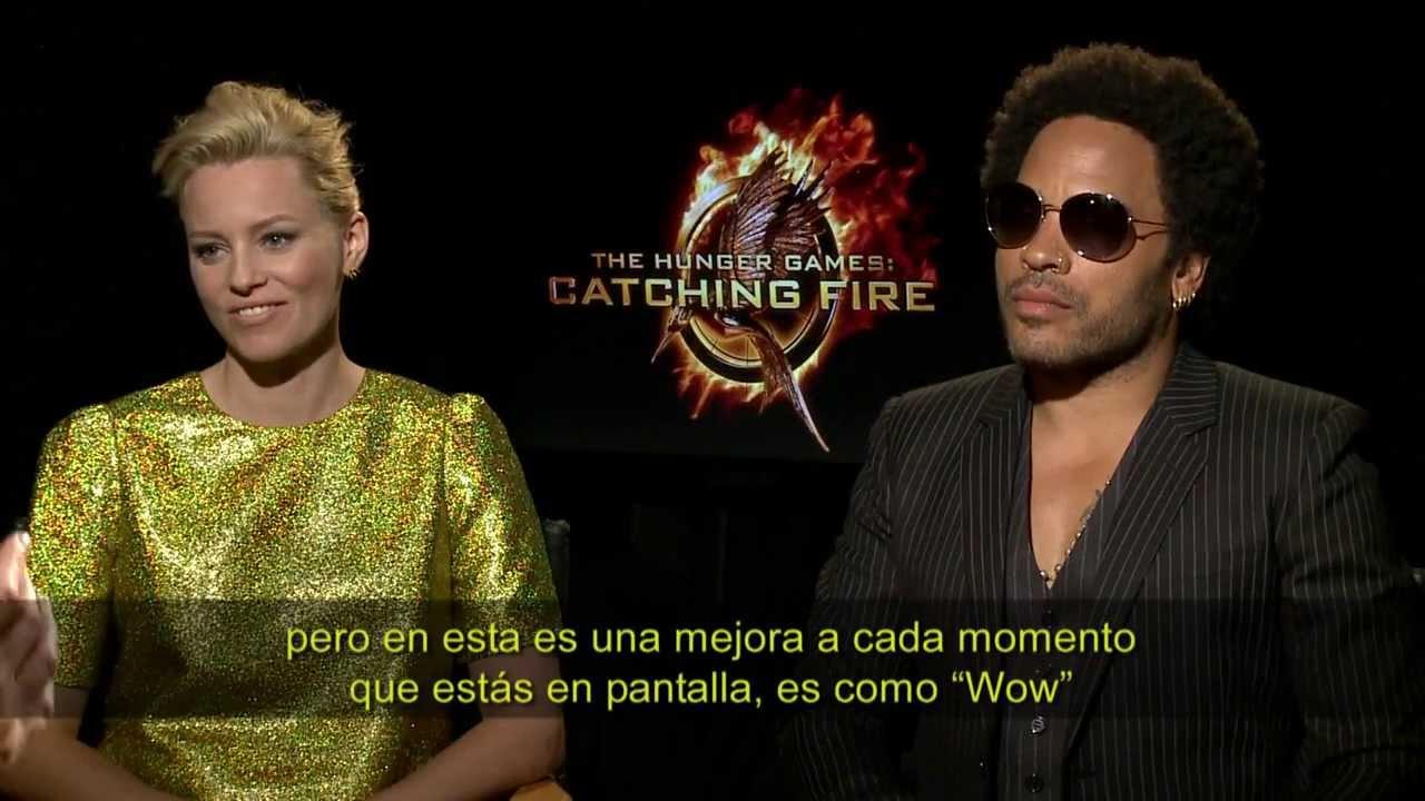 Entrevista Lenny Kravitz Y Elizabeth Banks Los Juegos Del Hambre