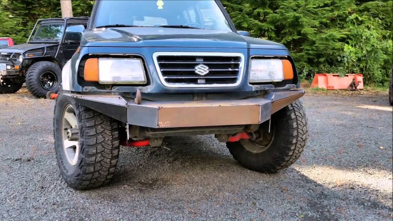 Suzuki Sidekick Sport Custom Bumper Project Youtube