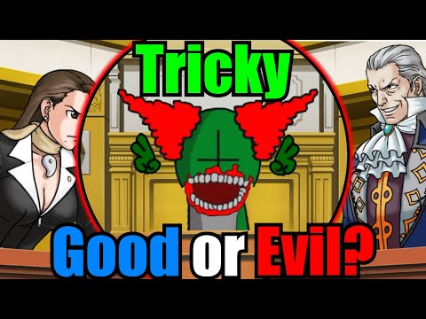 Ace Attorney Characters Argue Whether Tricky is Good or Evil |
