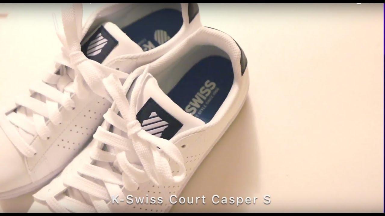 短影音/K Swiss Court Casper S休閒運動鞋