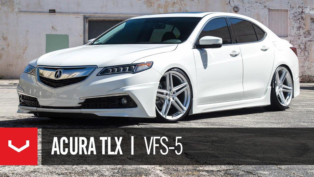 Acura TLX Vossen VFS YouTube - 2018 acura tl rims