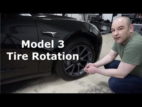 How to: Tesla Model 3 Tire Rotation