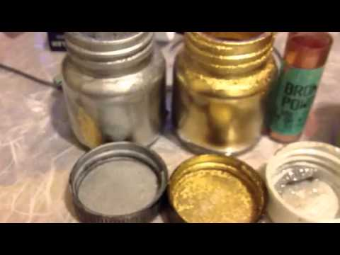 Gold and silver powder