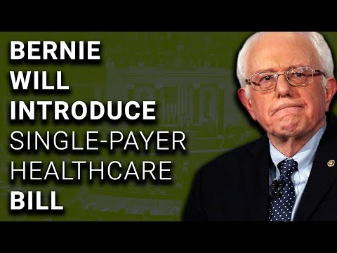 Bernie Sanders Will Introduce Single Payer Healthcare Bill