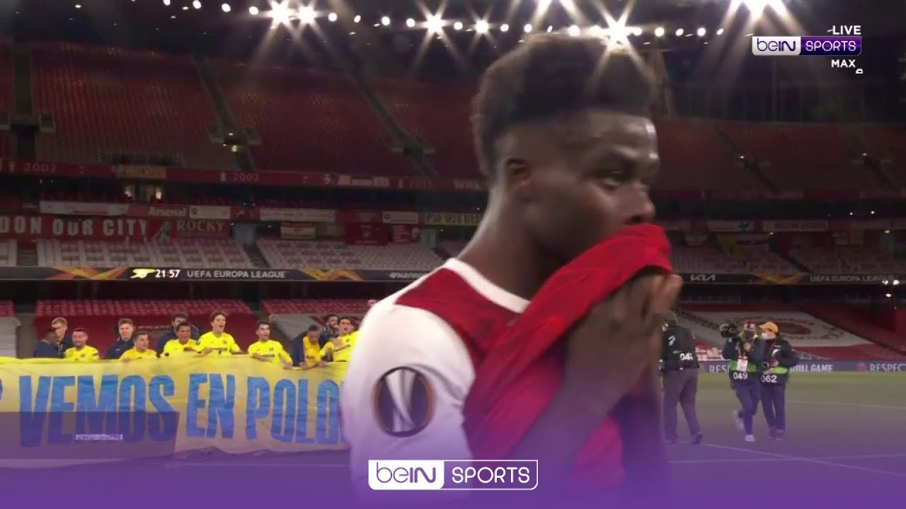 Download Emery's Villarreal celebrate as Arsenal crash out of UEL semi-finals   UEL 20/21 Moments