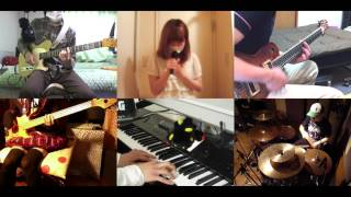 [HD]Nazo no Kanojo X ED [Houkago no Yakusoku] Band cover 謎の彼女X 検索動画 43