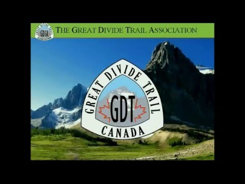'Straddling the Divide - The Great Divide Trail' - Dave Hockey