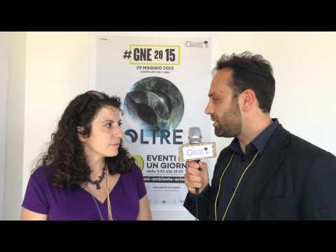 Simona Falasca parla ai microfoni di Giornalisti Nell'Erba durante #GNE2015