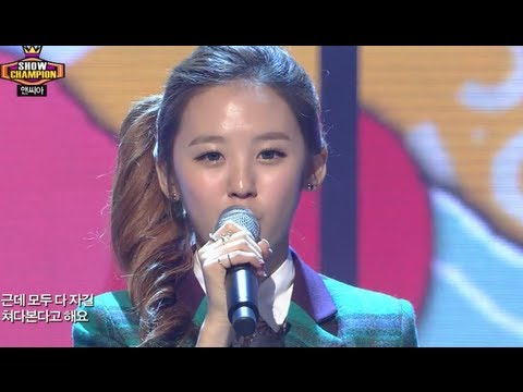 NC.A - My Student Teacher, 앤씨아 - 교생쌤, Show Champion 20130925
