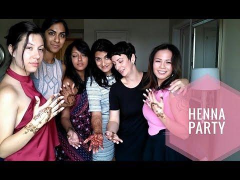 Henna Party Anita S Bride Tribe Indian Wedding Youtube