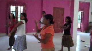 The Beautiful Esther Girls Dancing
