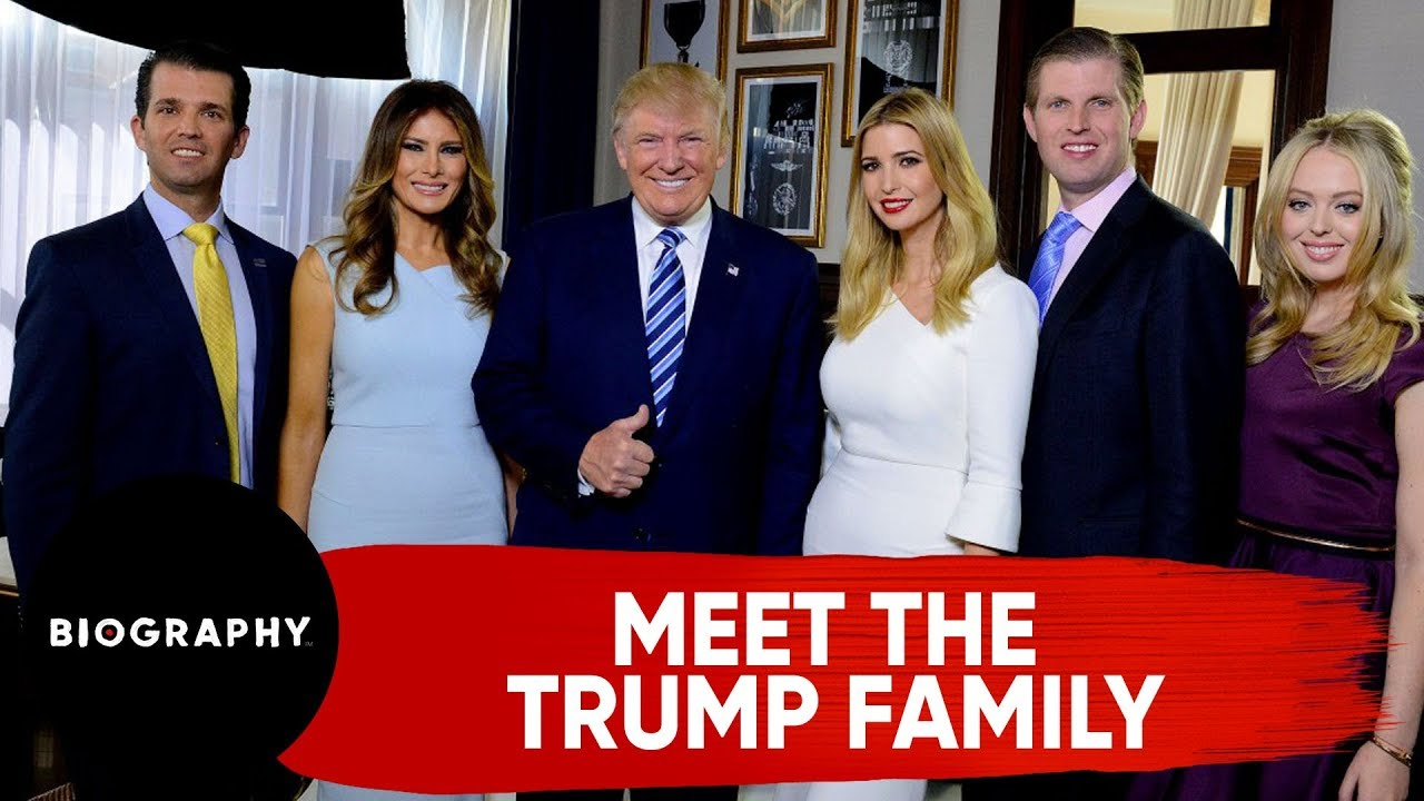 Meet The Trump Family | Biography - YouTube