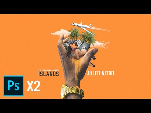 Islands Mixtape Cover | Photoshop | Speed Art