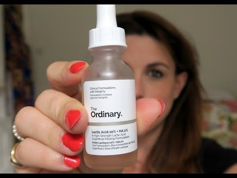 The Ordinary Lactic Acid - Quick Review