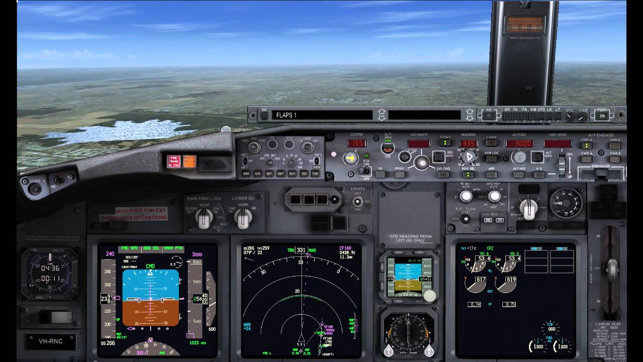 The Flight Sim Store 739 Positioning