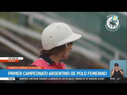 Primer campeonato argentino de polo femenino