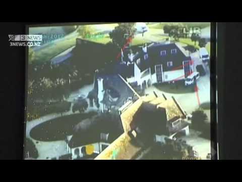 Kim Dotcom raid video revealed