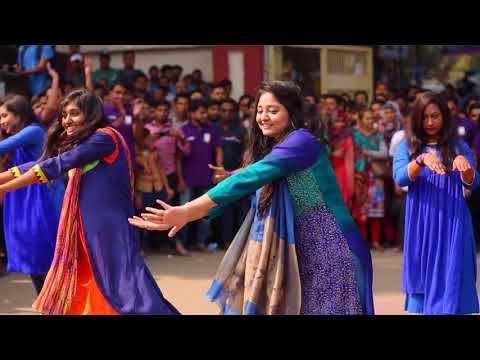 Flash mob of marketing 8th batch || Jagannath University ||