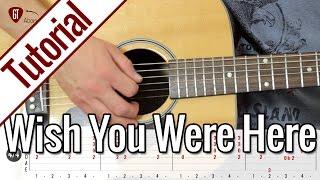 Pink Floyd - Wish You Were Here | Gitarren Tutorial Deutsch