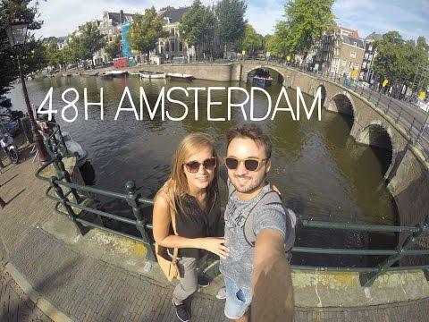 48h in Amsterdam, Netherlands – GoPro Edit