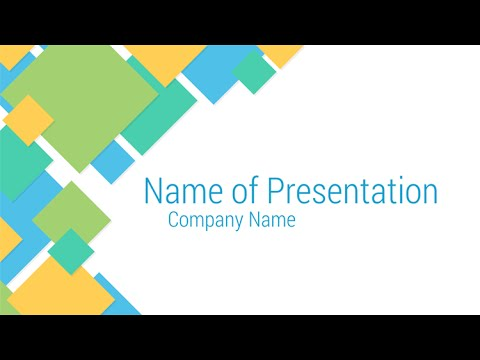 Abstract squares powerpoint template youtube abstract squares powerpoint template toneelgroepblik Gallery