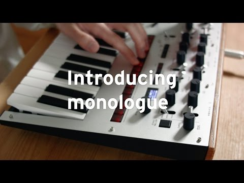 Introducing KORG monologue [with CC]
