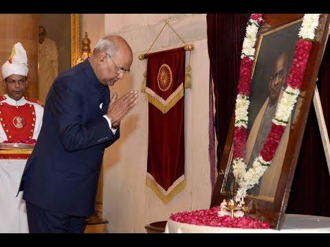 President Kovind paid floral tributes to Sardar Vallabhbhai Patel
