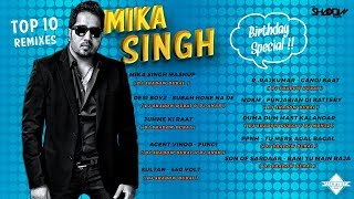 Video Mika Singh Top 10 Remixes | Birthday Special | DJ Shadow Dubai download MP3, 3GP, MP4, WEBM, AVI, FLV Juli 2018