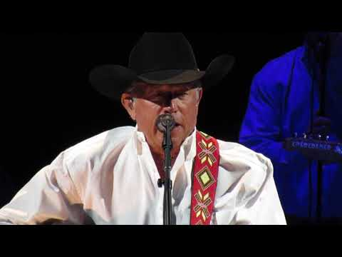 George Strait - Greeting & Ocean Front Property/FEB 2018/Las Vegas, NV/T-Mobile Arena