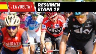 Resumen - Etapa 19 - La Vuelta 2017