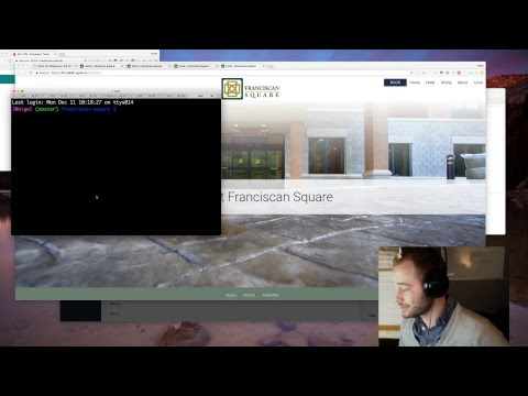 Static HTML Site (Quiet Coding) - Live Stream Without Commentary