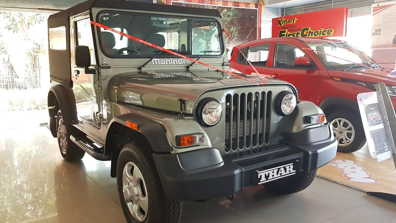 New Mahindra Thar Crde 4x4 Walkaround Price Mileage Specs Features Youtube