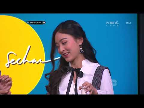 Natasha Wilona Bikin Jus Special Untuk Teh Sarah