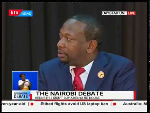 Nairobi Gubernatorial candidates talk on health and education