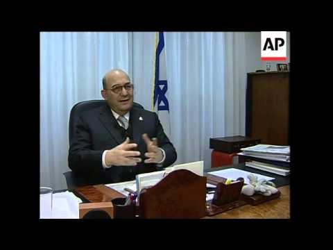 Israeli Ambassador To Vatican On Gaza Row, Papal Visit
