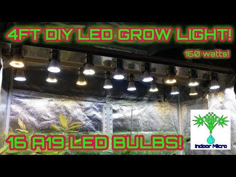 29 paneles de luz LED Grow para bricolaje que puede hacer en su casa 9