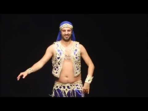 Jamil Male Belly Dancer - Drum Solo @ Aether