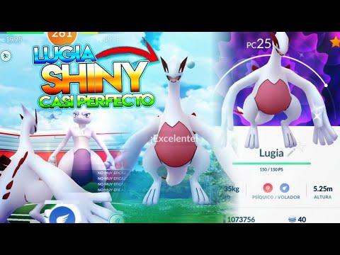 Download Youtube: LUGIA SHINY CASI PERFECTO !! DOS LUGIAS SHINY & INCURSIÓN MEWTWO - Pokemon Go