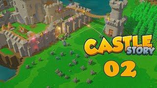 Прохождение Castle Story: #2  - МОЩНЫЙ ЗАМЕС!