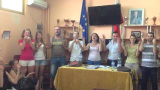Anthem of the Republic of Bulgaria in Bulgarian Sign Language (BGSL)