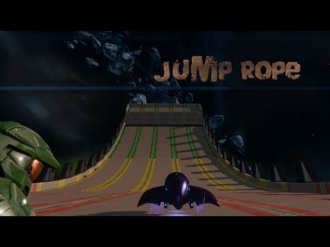 Halo MCC Epic Forge Maps #32 - Jump Rope   Halo 2 Anniversary Custom Map