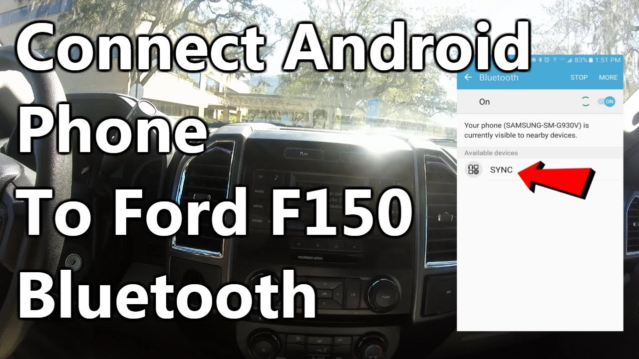 2016 ford f 150 bluetooth connection