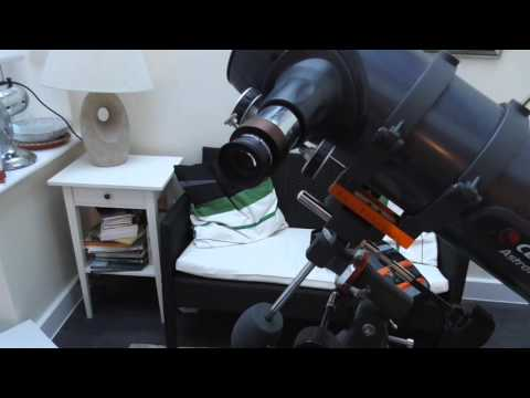 Celestron T ring Connection with EOS Camera