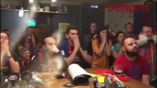 Барселона ПСЖ  6 ой гол)))Радость фанатов!)