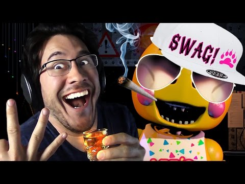 CHICA GOES DOWN!! (3rd and 4th Shot) | Five Nights at F**kboy's DRUNK - Part 3