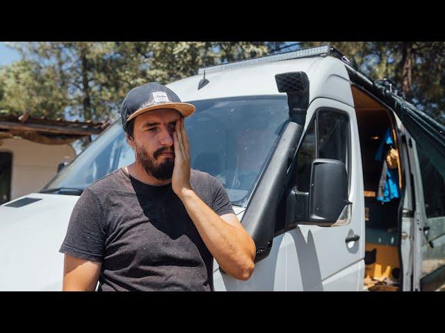 BROKEN DOWN! The Van Won't Start