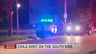 12-year-old boy shot in South Side park