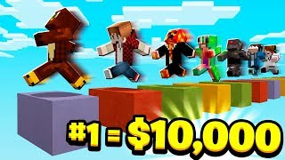 the FIRST YOUTUBER to WIN PARKOUR gets $10,000...