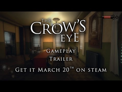 The Crow's Eye Gameplay Trailer | Puzzle horror adventure game