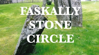 Faskally Stone Circle, Pitlochry, Perth & Kinross, Scotland.